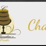 Chanderes Cakes Logo