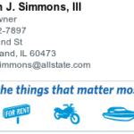 allstate simmons logo