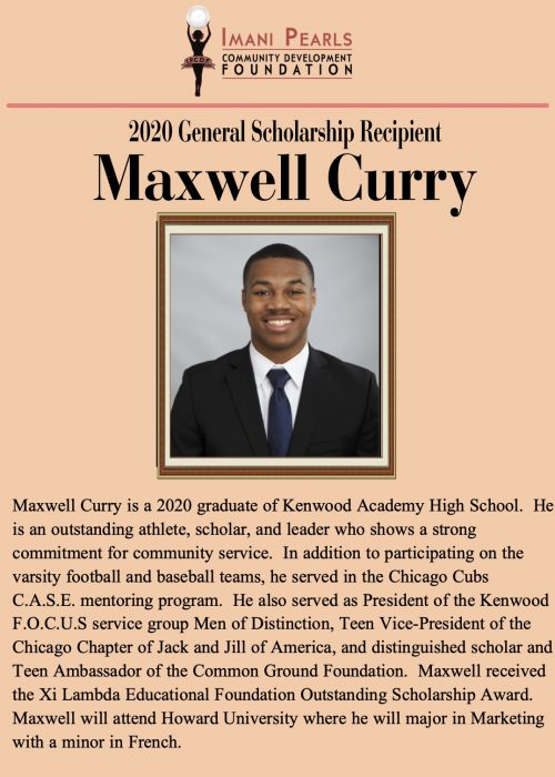 2020 Scholarship Maxwell Curry - 3_General
